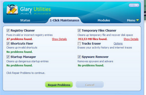Glary Utilities 4.9.0.99 free download