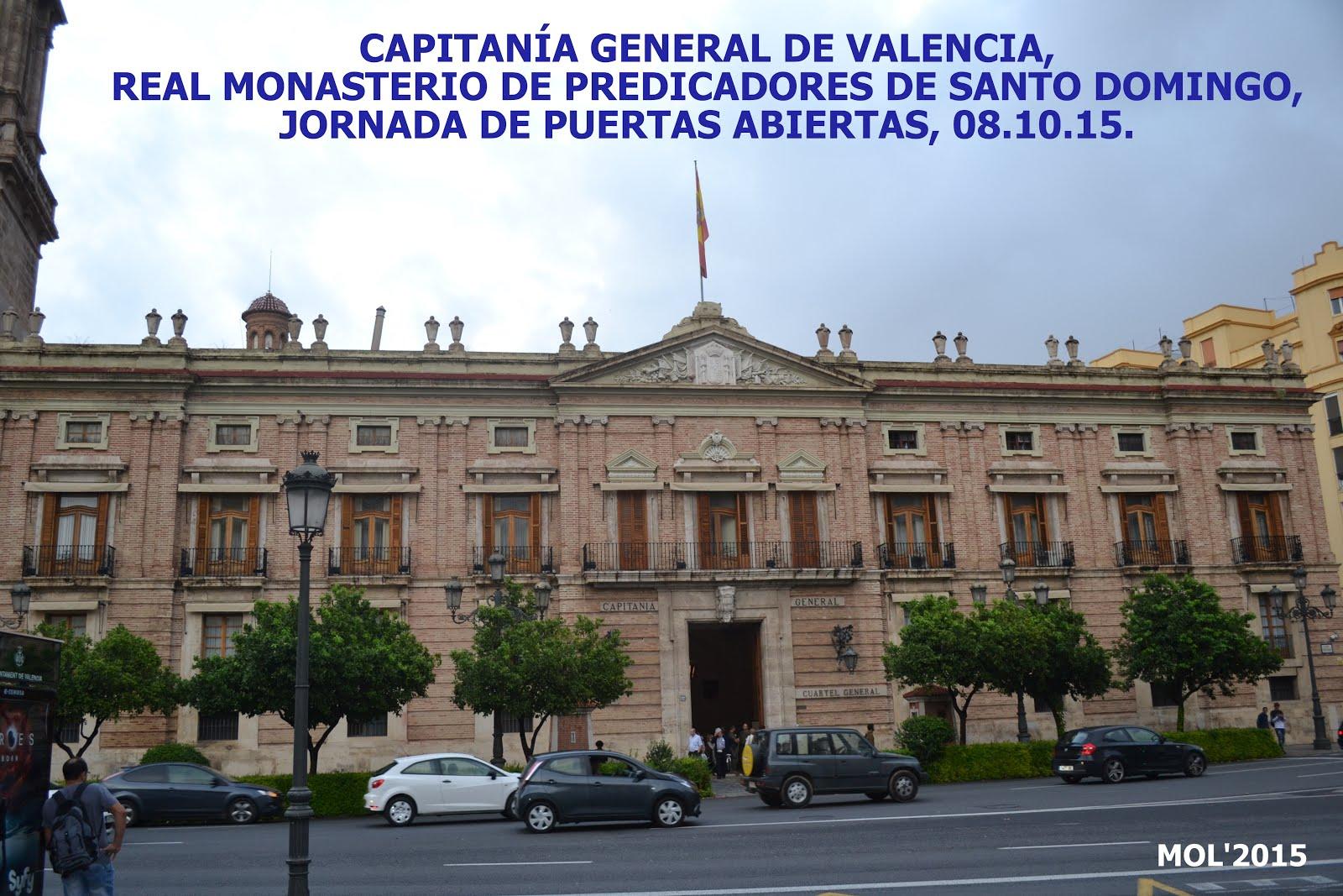 08.10.15 CAPITANÍA GENERAL DE VALENCIA, JORNADA DE PUERTAS ABIERTAS
