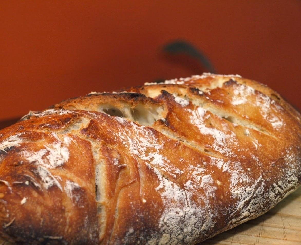 Pão de Ervas (vegana)