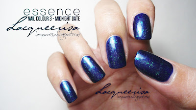 Lacqueerisa: Essence Nail Colour 3, Midnight Date