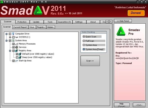 Download Antivirus Smadav Terbaru Revisi 8,6
