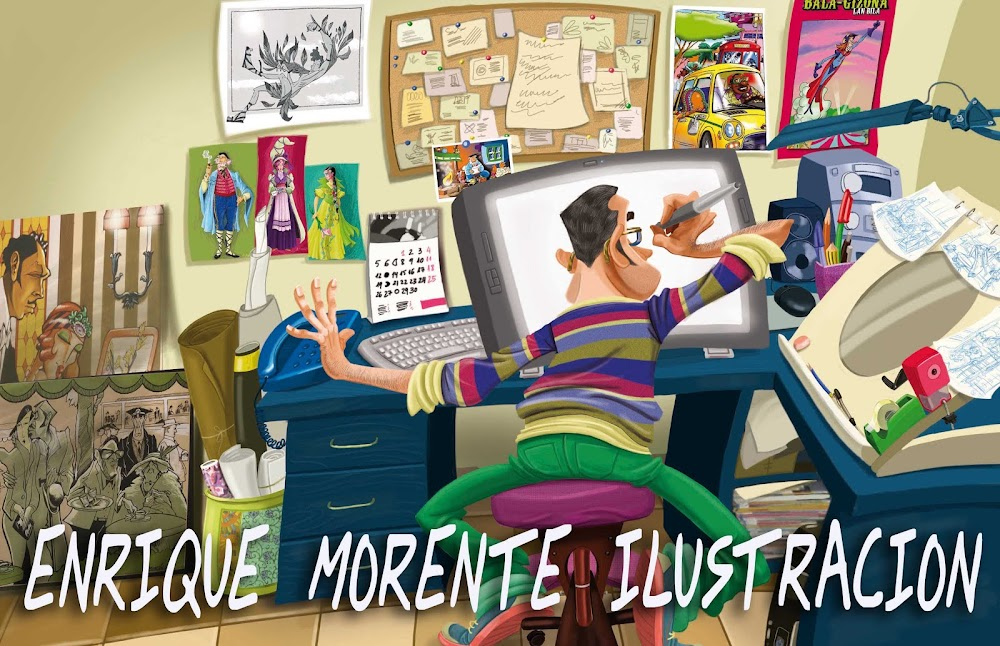 enrique morente illustrations