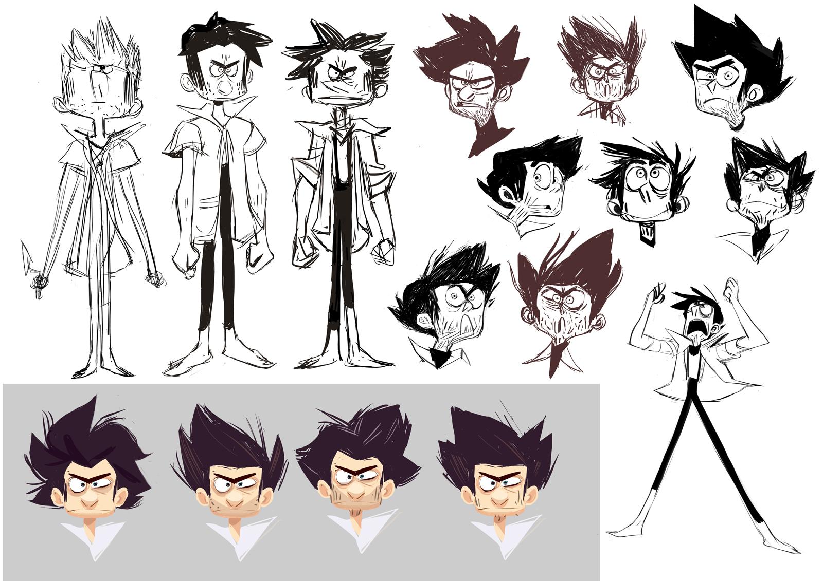 Disney Character Design Internship : Nadya mira portfolio