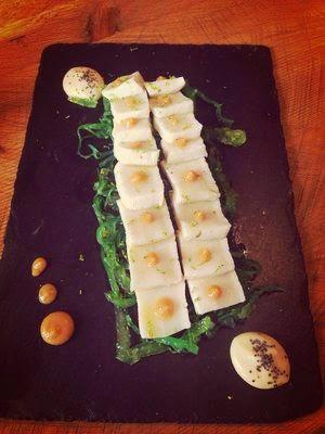 Rita Sibarita,restaurante,montecarmelo,calidad,original,cocina fusión,tataki de pez mantequilla