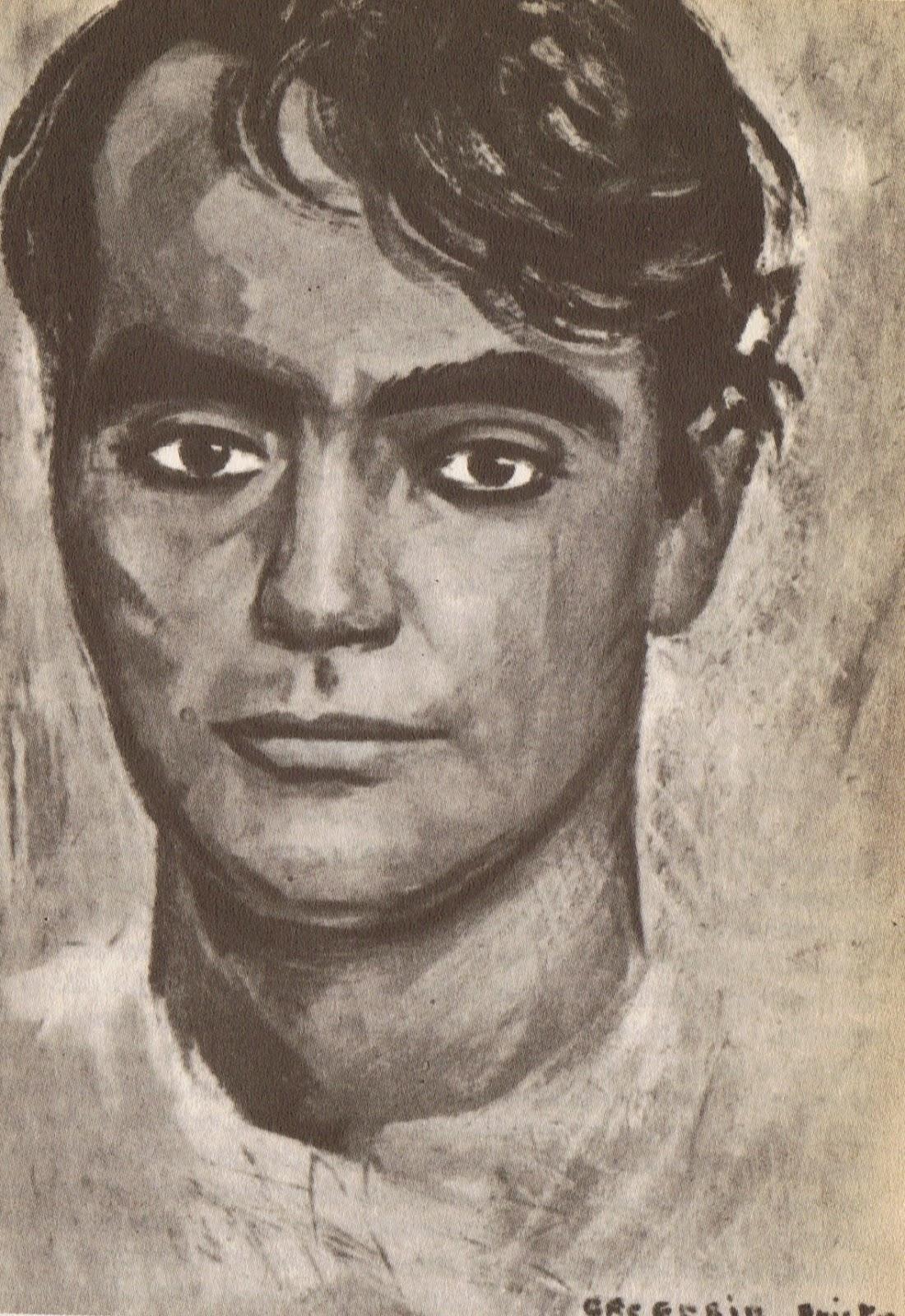 Retrato de Lorca de Gregorio Prieto