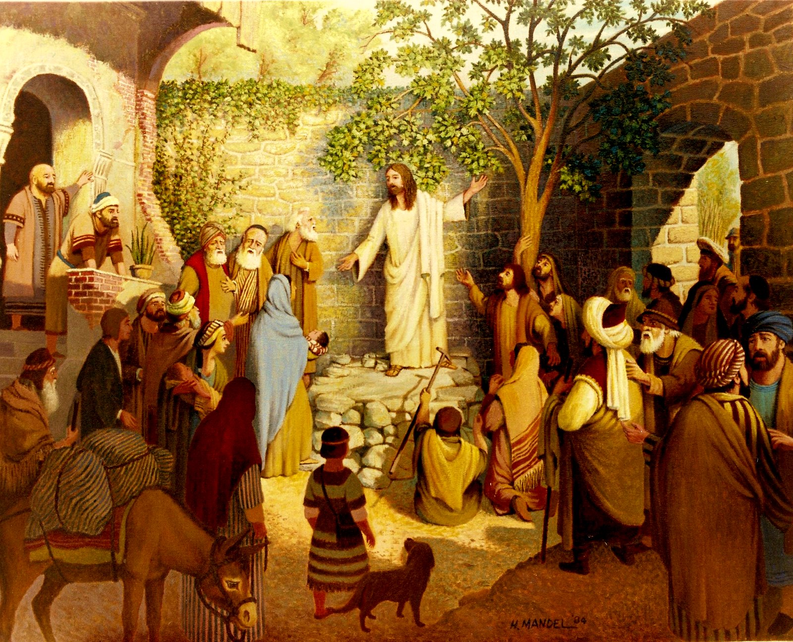 """jesus and christian gospel When jesus began his public ministry, he summarized his entire message this way: """"the time is fulfilled, the kingdom of god is at hand repent and believe the gospel"""" (mark 1:15) a new kingdom, a new nation, had been founded and he was now calling people to become citizens of it."""