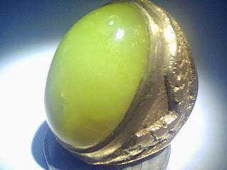 Batu Cincin Garut Bungbulang Kuning
