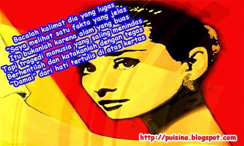 Puisi Audrey Hepburn Eksis di Google Doodle
