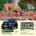 DOG CHOW autó nyereményjáték