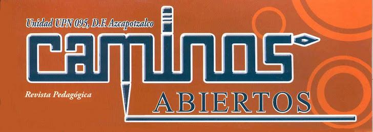 Revista Caminos Abiertos 2012