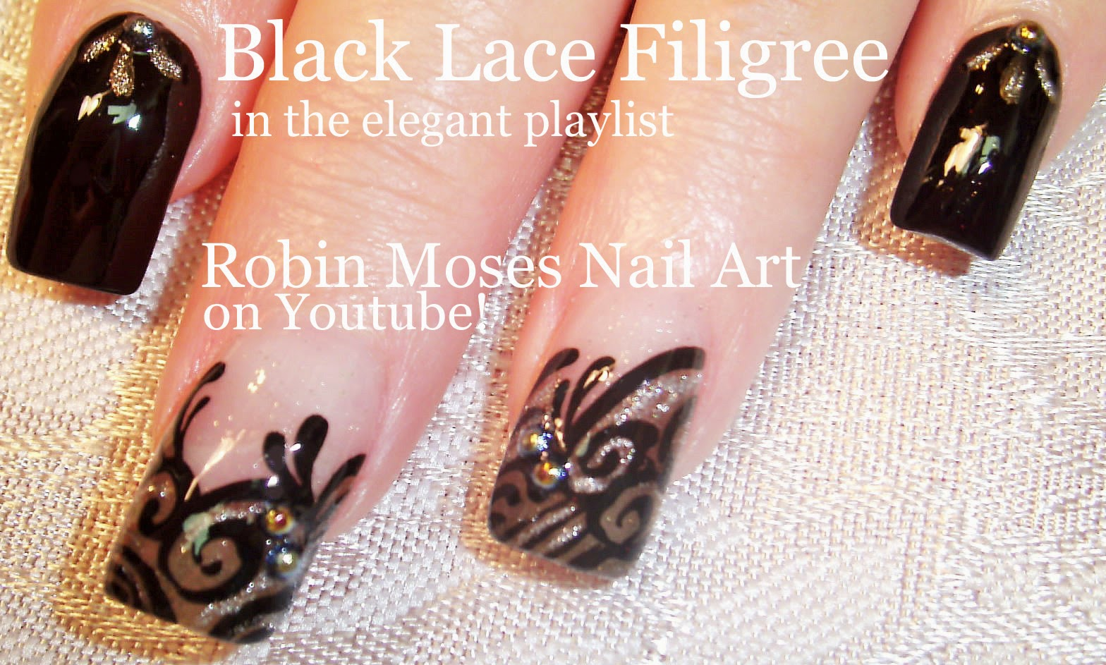 Nail Art By Robin Moses Lace Nails Spring Nails 2015 Nail Art