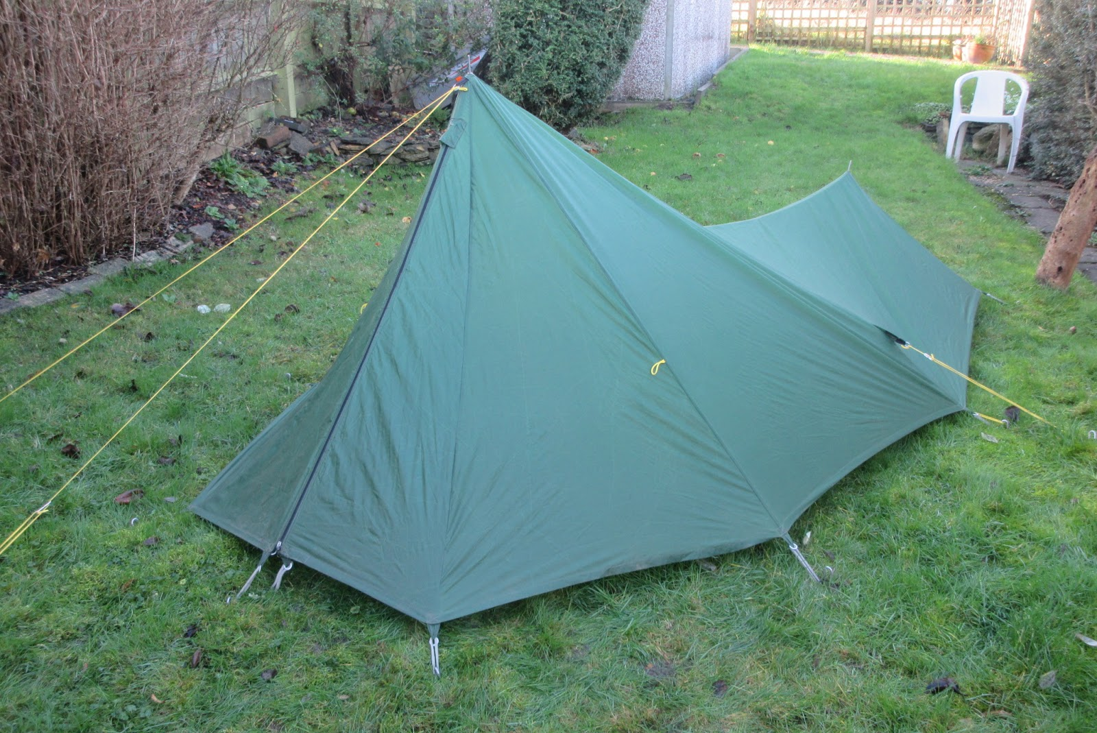 Ultra-lightweight hiking and backpacking: New tent!