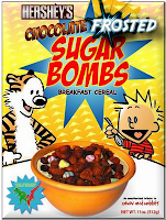 chocolate frosted sugar bombs