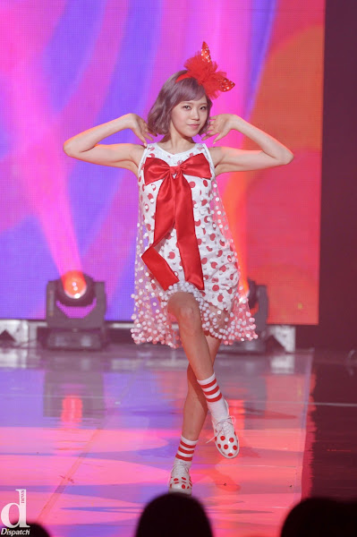Lizzy Orange Caramel Catallena Live SBS MTV The Show 140318