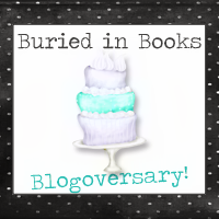 Buried in Books Blogoversary