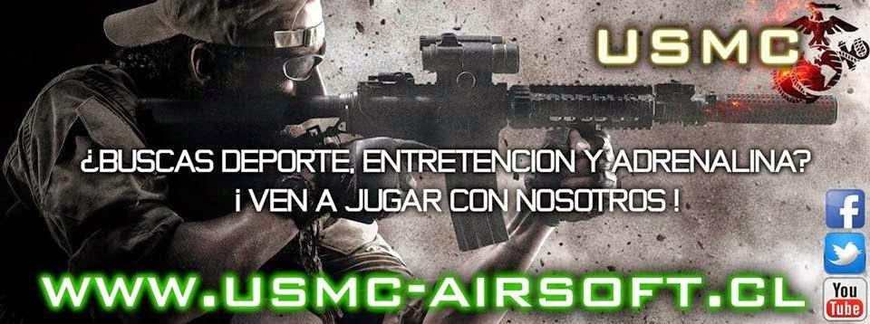 USMC Airsoft Team Chile