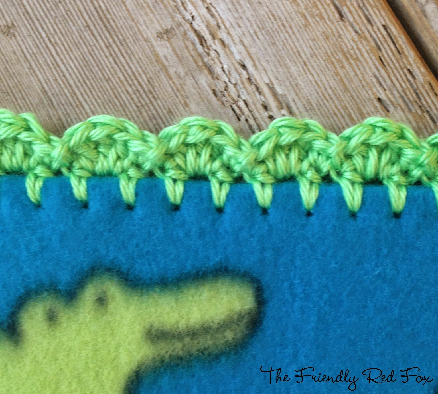 For This Blanket I Did: