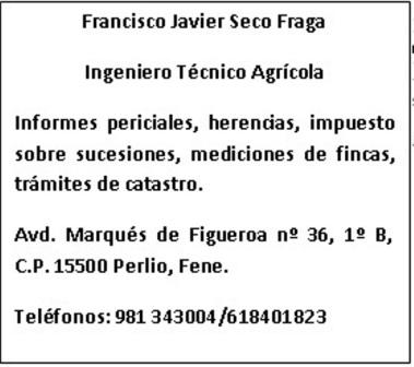 Javier Seco - Ing. Tec. Agrícola
