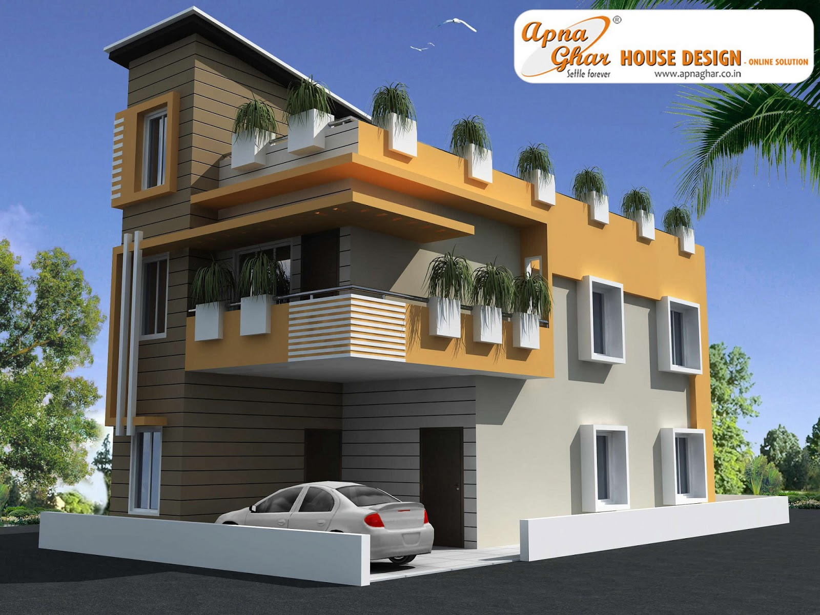 Ghar Ground Floor Elevation : Apna ghar elevations joy studio design gallery best