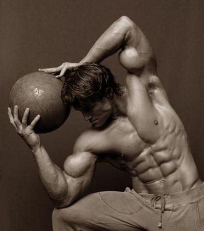 hipertrofia muscular bola