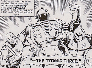 The Titanic Three, Avengers #130
