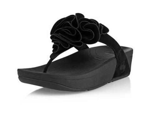 fitflop pietra size 9 black
