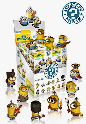 Minions Movie Mystery Minis Blind Box Series by Funko