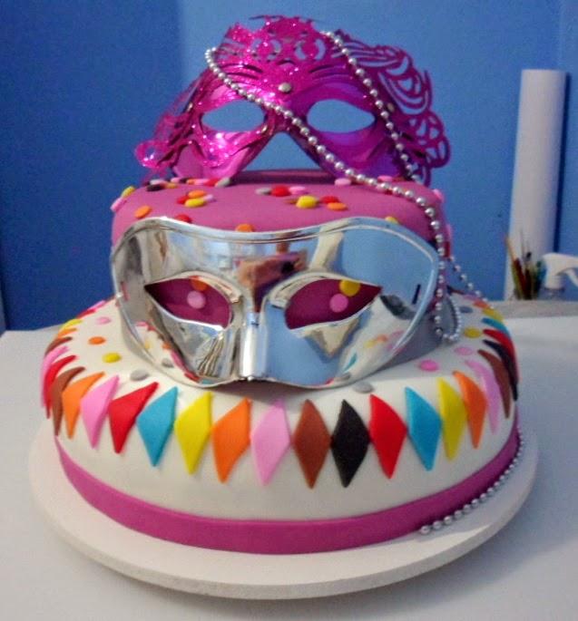 Ponks Cake Bolo Festa A Fantasia