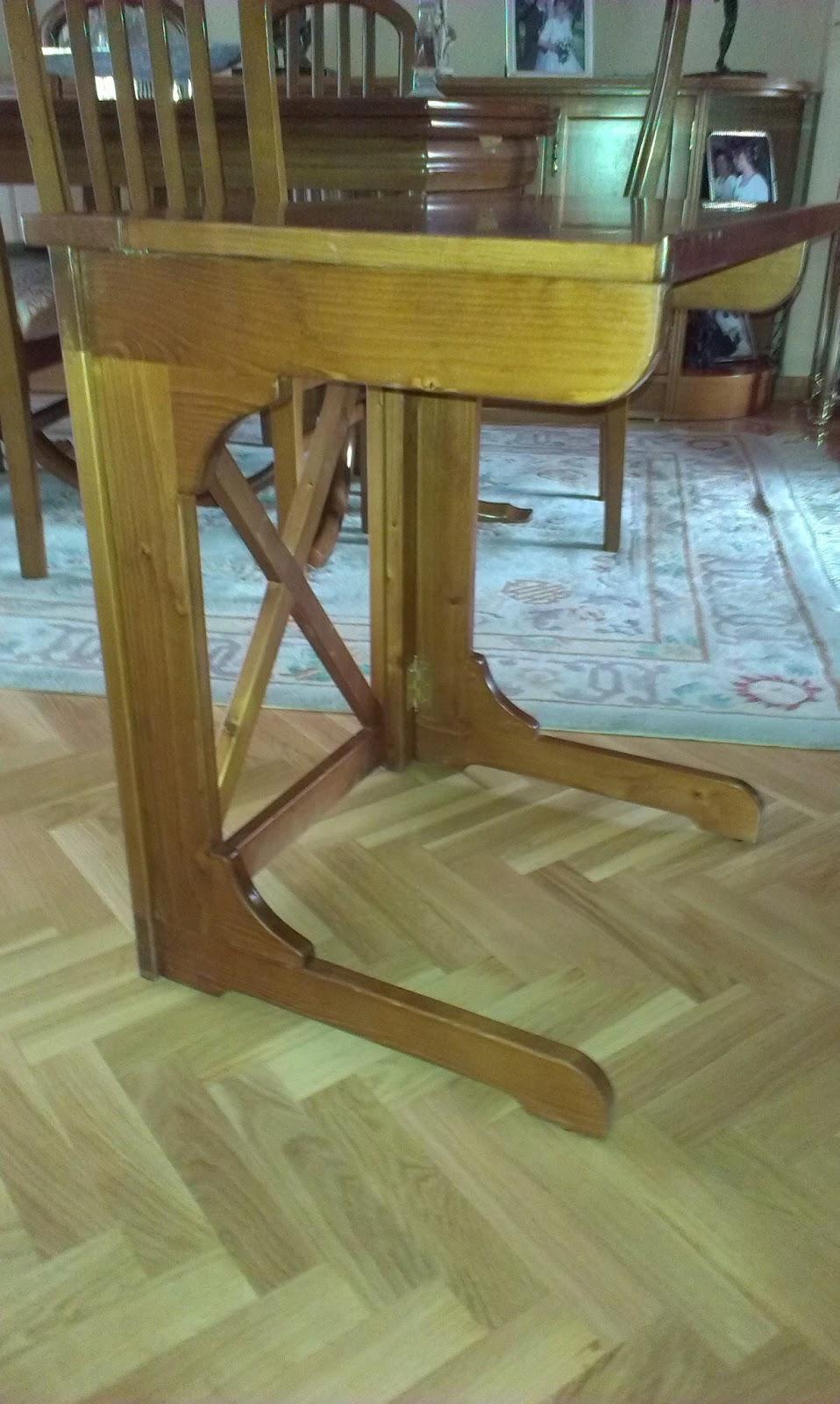 Muebles a medida mesa plegable para ordenador etc for Mesa plegable ordenador