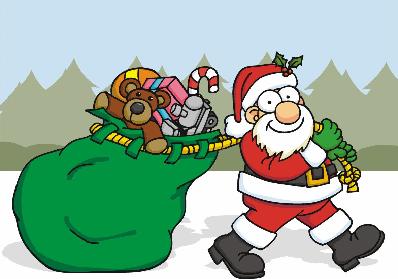 la logística de Papá Noel, Logística en navidad