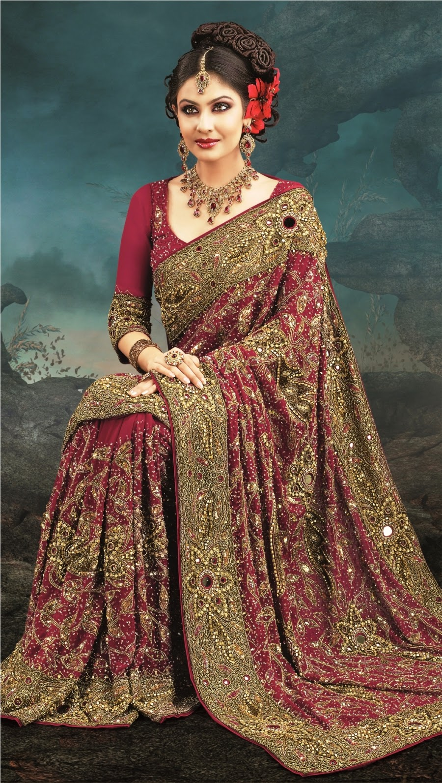 How To Select Bridal Saree For Reception