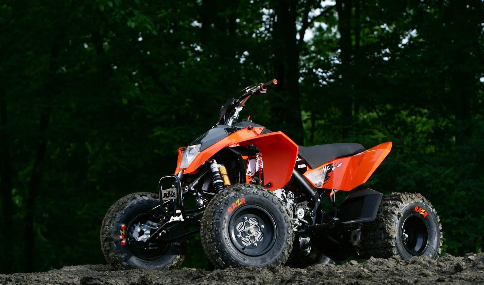 KTM 525 XC ATV Bikes HD Images