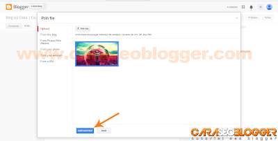 Cara Posting di Blog Blogger / Blogspot - 4