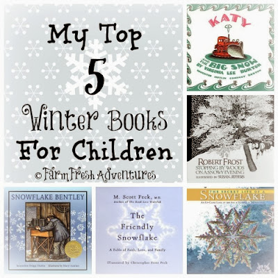 five winter books for children