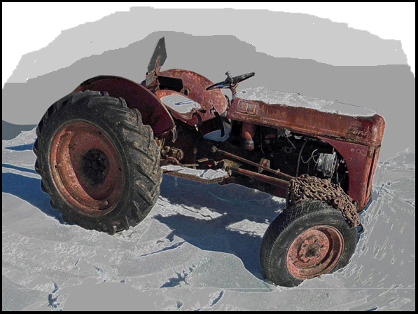Ford 8N tractor Waiting for better days and maybe a restoration? Photo ...