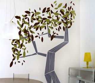 Lirolhaus decoraci n de paredes en bogot vinilos for Arbol interior