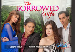 The Borrowed Wife is a Filipino drama series to be broadcast by GMA Network starring Camille Prats, Rafael Rosell, TJ Trinidad and Pauleen Luna. It is set to premiere on...