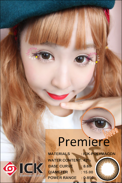 ICK Premiere Brown circle lens review