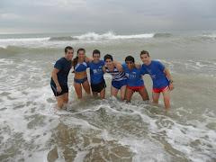Entreno a la platja 2011