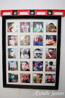 fake framed instagram grid