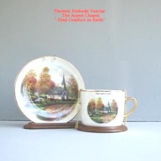Buy Thomas Kinkade The Aspen Chapel Teacup Display