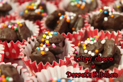 ... Cake, Crispy Choco, Kek Batik: Tempahan Cookies Aidilfitri 2012