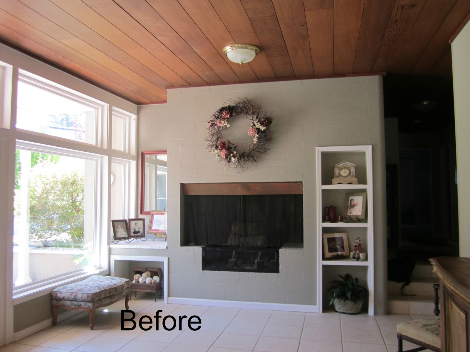 Living Room Ideas Ranch Home ranch house living room before and after - classic casual home