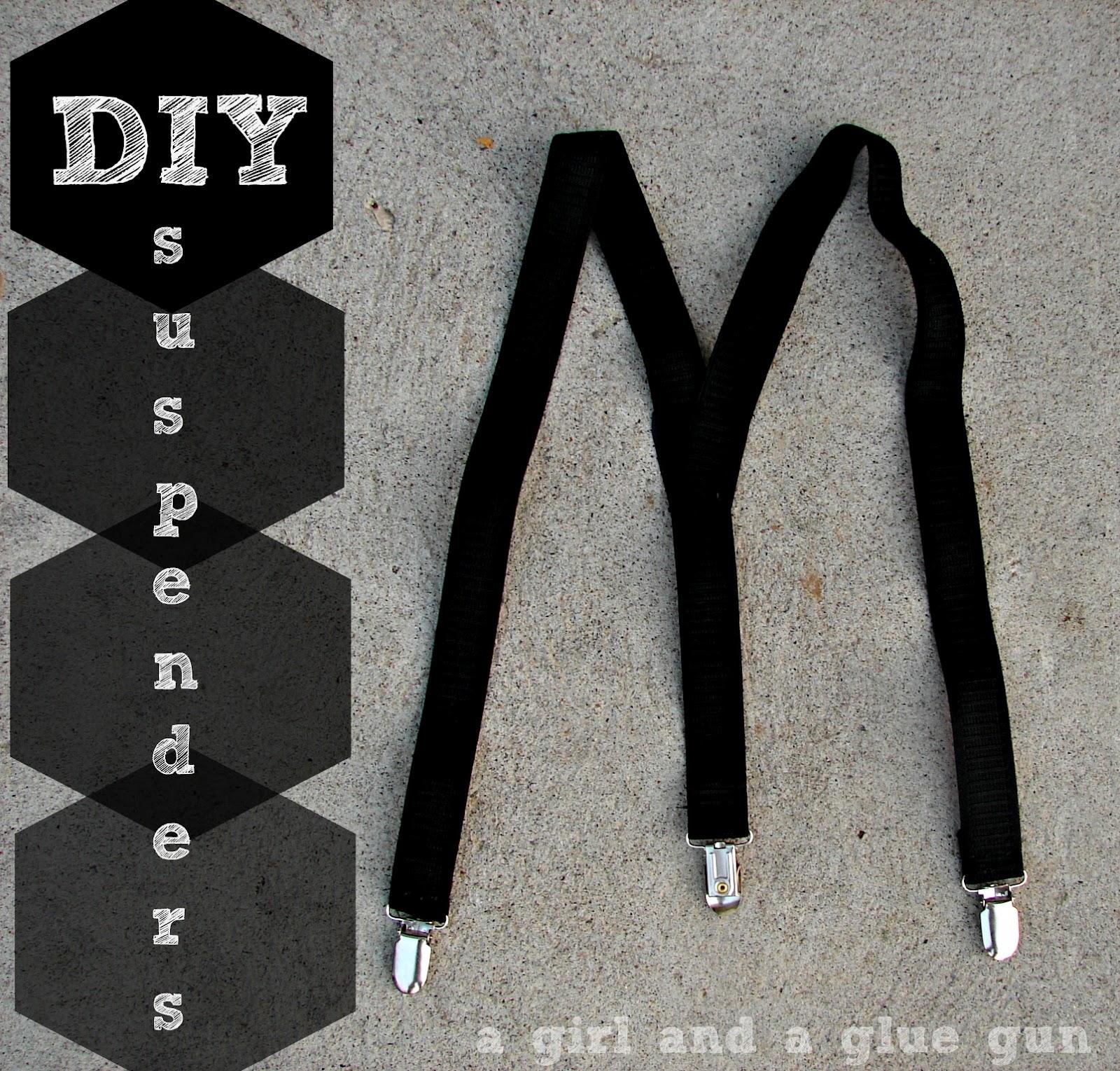 suspenders - A girl and a glue gun