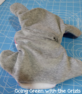 make your own cloth diapers tutorial part 13
