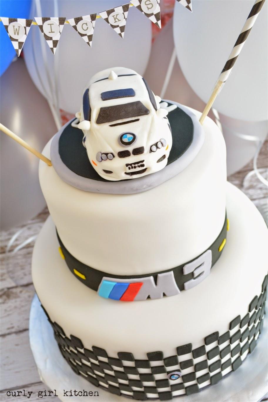 Bmw Car Birthday Cake