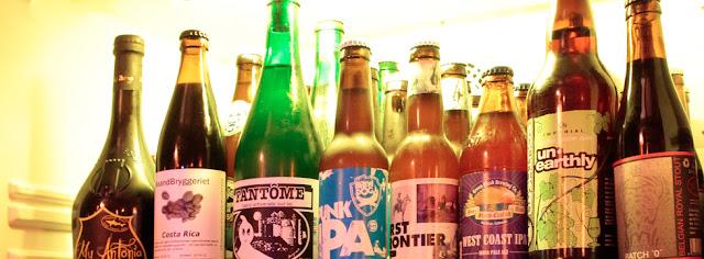 Cervezas artesanales, La Tape. Tusolovive Madrid.