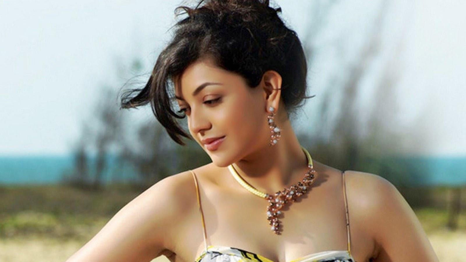 Kajal Agarwal tollwood actress wallpaper