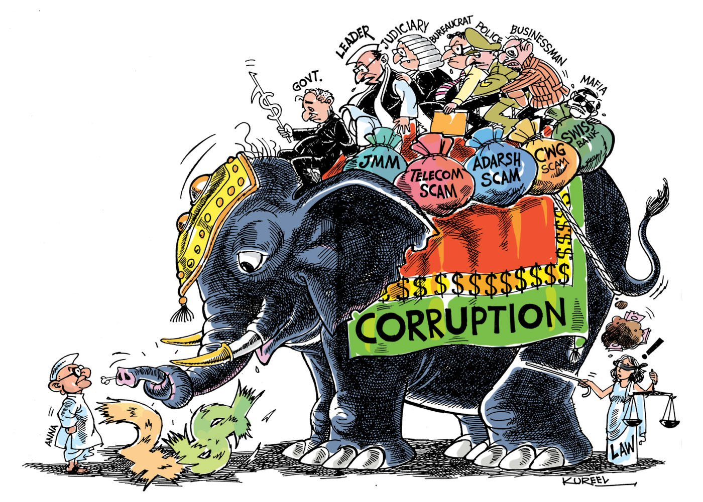 corruption in india Corruption in india a rotten state graft is becoming a bigger problem—and the government should tackle it mar 10th 2011.