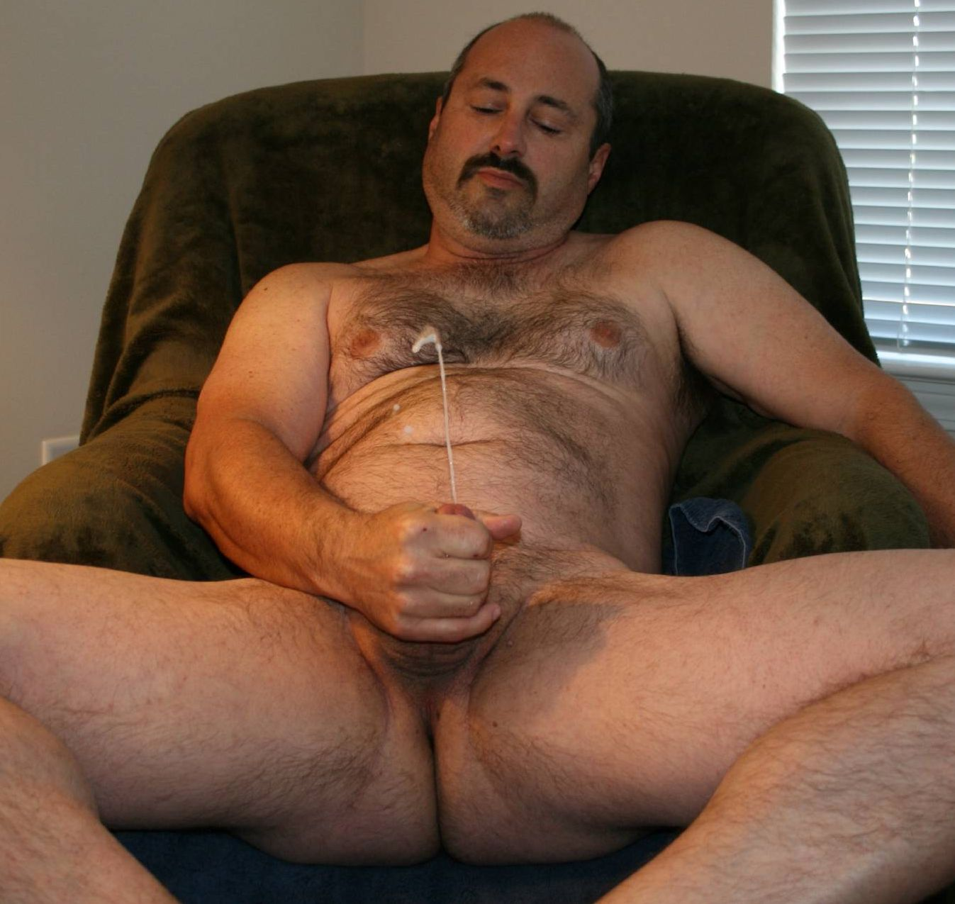 Man hot hairy mature sexy naked